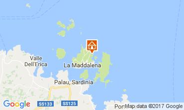 Mappa La Maddalena Villa  98901