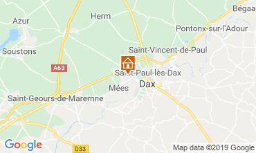 Mappa Saint Paul les Dax Casa mobile 117704