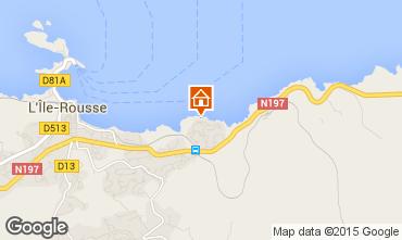 Mappa Isola Rossa Appartamento 64700