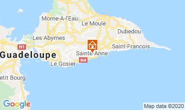 Mappa Sainte Anne (Guadalupa) Bungalow 70986