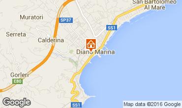Mappa Diano Marina Appartamento 76633