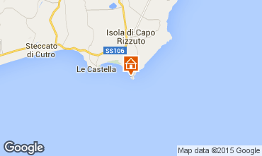 Mappa Isola di Capo Rizzuto Appartamento 63782
