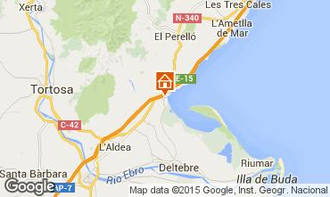 Mappa L'ampolla Villa  59145