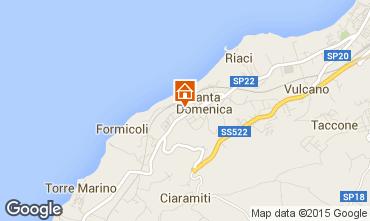 Mappa Tropea Appartamento 68556