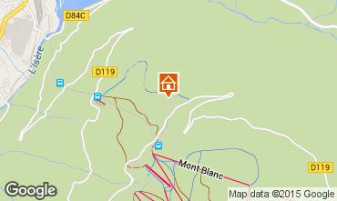 Mappa Les Arcs Chalet 322