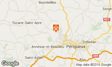 Mappa Périgueux Agriturismo 54756