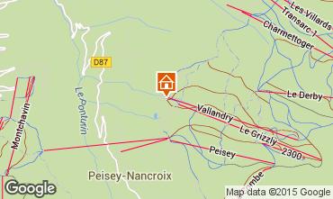 Mappa Peisey-Vallandry Appartamento 90871