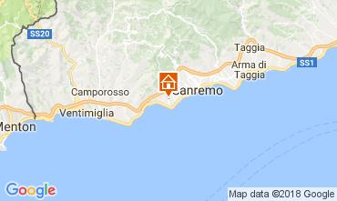 Mappa Sanremo Villa  110839