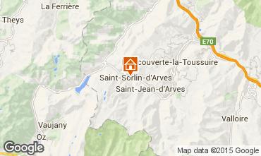 Mappa Saint Sorlin d'Arves Monolocale 2689