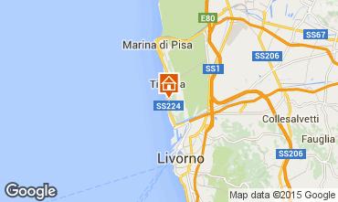 Mappa Tirrenia Appartamento 96554