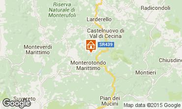 Mappa Volterra Appartamento 101242