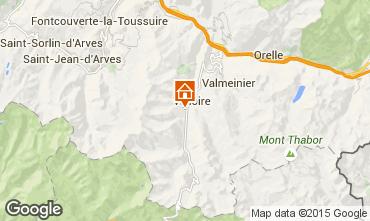 Mappa Valloire Appartamento 3399