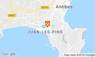 Mappa Juan les Pins Appartamento 80674