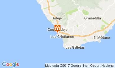 Mappa Playa de las Américas Appartamento 108562