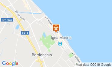Mappa Bellaria Igea Marina Appartamento 84906