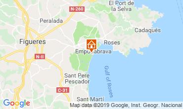 Mappa Empuriabrava Appartamento 93567