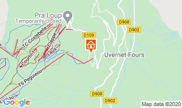 Mappa Pra Loup Appartamento 26719