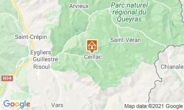 Mappa Ceillac en Queyras Monolocale 561