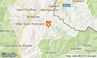 Mappa Brian�on Chalet 41024