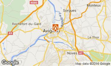 Mappa Avignone Monolocale 59338