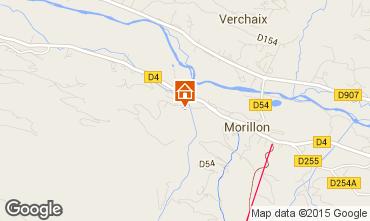 Mappa Morillon Grand Massif Chalet 83014