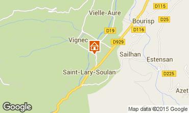 Mappa Saint Lary Soulan Monolocale 80914