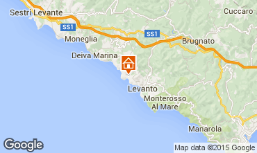 Mappa Bonassola Appartamento 51375