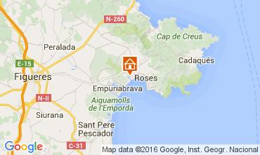Mappa Rosas Monolocale 103570