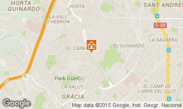 Mappa Barcellona Appartamento 8171