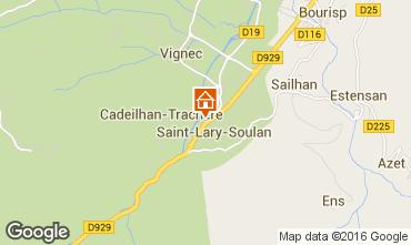 Mappa Saint Lary Soulan Monolocale 80562