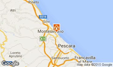 Mappa Montesilvano Marina Appartamento 94544