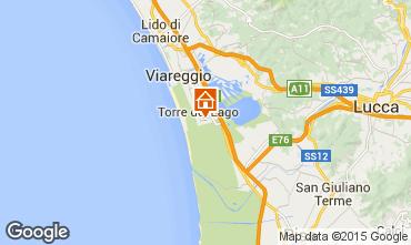 Mappa Viareggio Casa 70340