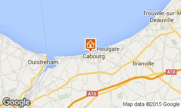 Mappa Cabourg Appartamento 10748