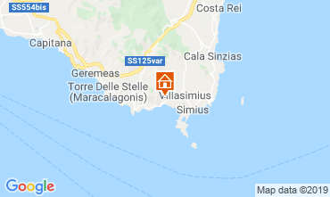 Mappa Villasimius Villa  116186