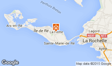 Mappa La Flotte en Ré Villa  75537
