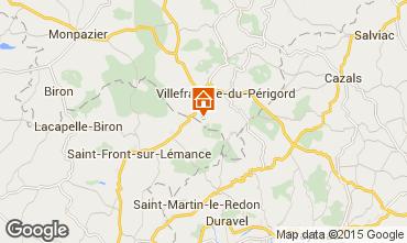 Mappa Villefranche du P�rigord Agriturismo 51192