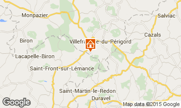 Mappa Villefranche du Périgord Agriturismo 51192