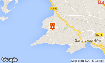 Mappa Sanary Appartamento 73349