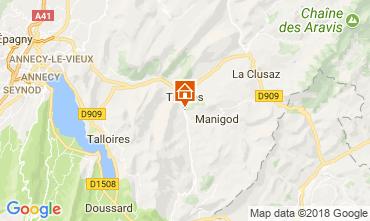 Mappa La Clusaz Agriturismo 112920