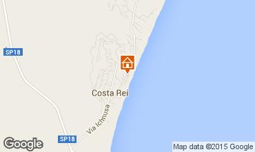 Mappa Costa Rei Bungalow 52915