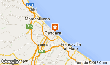 Mappa Pescara Appartamento 83666