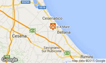 Mappa Cesenatico Agriturismo 94896