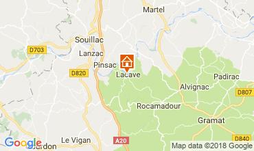 Mappa Rocamadour Agriturismo 113144