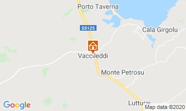 Mappa Porto San Paolo Appartamento 117950