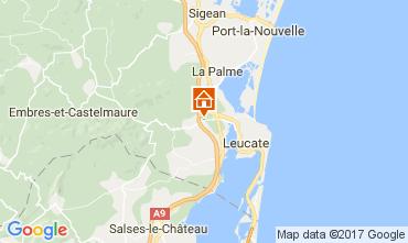 Mappa La Franqui Appartamento 58492