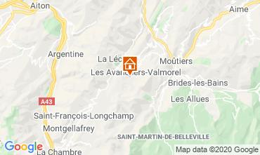 Mappa Valmorel Appartamento 111703