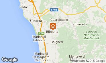 Mappa Bibbona Casa 29790