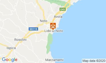 Mappa Noto Appartamento 86942