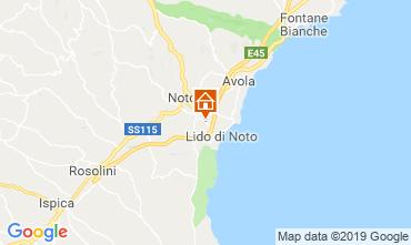 Mappa Noto Villa  118339