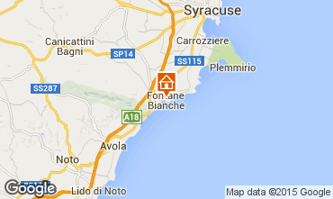 Mappa Fontane Bianche Villa  77117